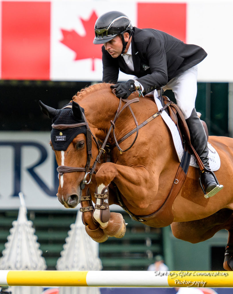 Eric Lamaze and Chacco Kid will represent the Canadian Show Jumping Team at the FEI World Equestrian Games from September 11 and 23 in Tryon, NC. Photo by Starting Gate Communications