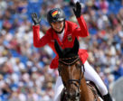 Germany's Simone Blum celebrates winning the Bank of America Individual Jumping title at the FEI World Equestrian Games™ 2018 in Tryon, NC with DSP Alice and carving her name into the pages of equestrian history.