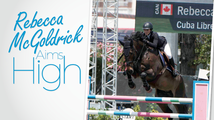 Thumbnail for Rebecca McGoldrick Aims High