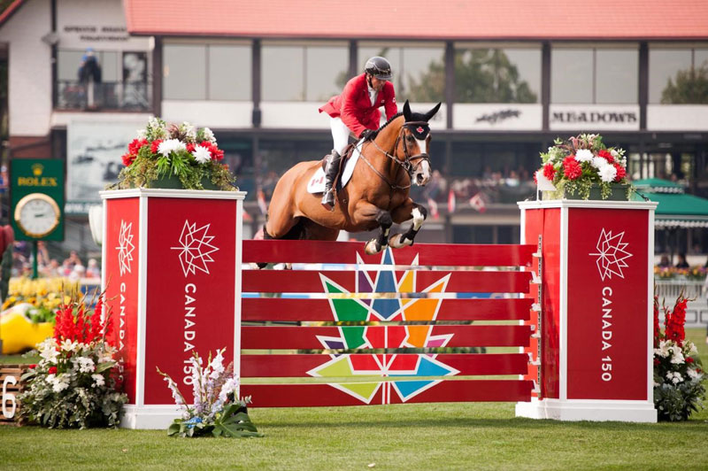 The top show jumpers in the world, including Eric Lamaze, will compete at the Spruce Meadows Masters.