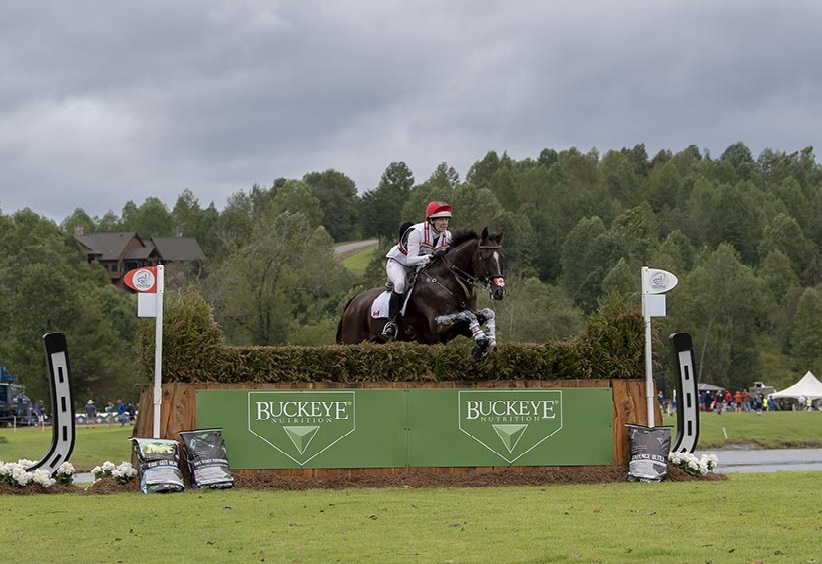 Selena O'Hanlon and Foxwood High, top-placed Canadians at WEG following cross-country.
