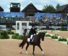 Selena O'Hanlon and Foxwood High were top Canadians following the eventing dressage at WEG, placing 37th.