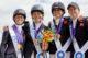 That winning feeling! Team GB stand tall, as they take gold to secure the World Title in the Mars Eventing Team competition at the FEI World Equestrian Games™ Tryon 2018, as well as a ticket to Tokyo 2020 Olympic Games. (FEI/Liz Gregg)