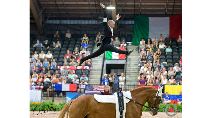 Thumbnail for Canadian Vaulters Fly High in First Round of Freestyles at WEG