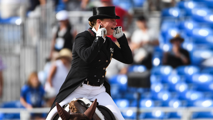 Thumbnail for Second Gold for Werth in Special at WEG