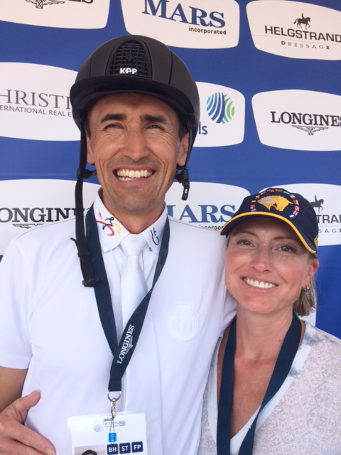 Colombian Fernando Cardenas and his wife Meredith. Fernando's family emigrated to North Carolina 30 years ago. Fernando is a full time equine veterinarian based in Raleigh.
