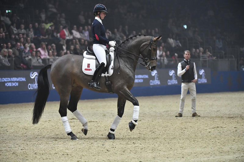 Charlotte Dujardin and 'Mrs Valegro' will reveal their new freestyle routine at Olympia, The London International Horse Show.