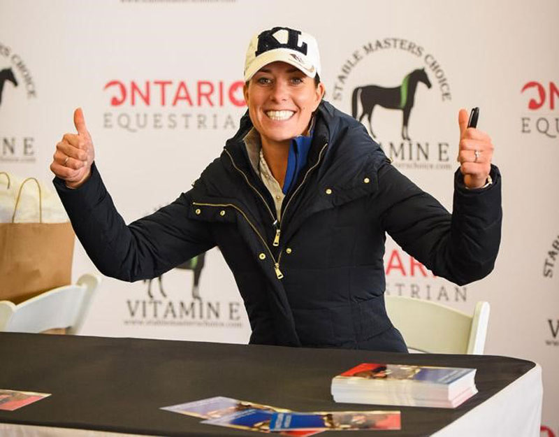Day two of the Charlotte Dujardin master class showcased stunning horses, top Canadian talent and valuable lessons.