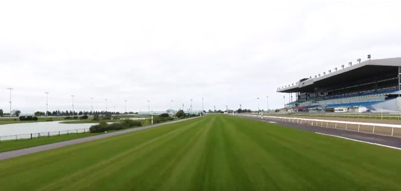 Woodbine's new turf course is nearly complete.