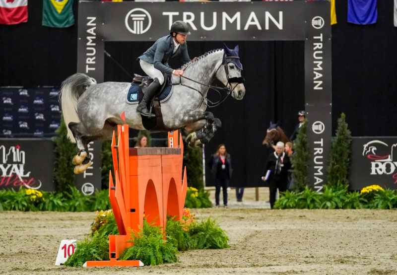 Conor Swail and Koss Van Heiste winners of the $100,000 Truman Homes Cup at Royal West CSI3*. Photo by Rocky Mountain Photos by Amanda Ubell