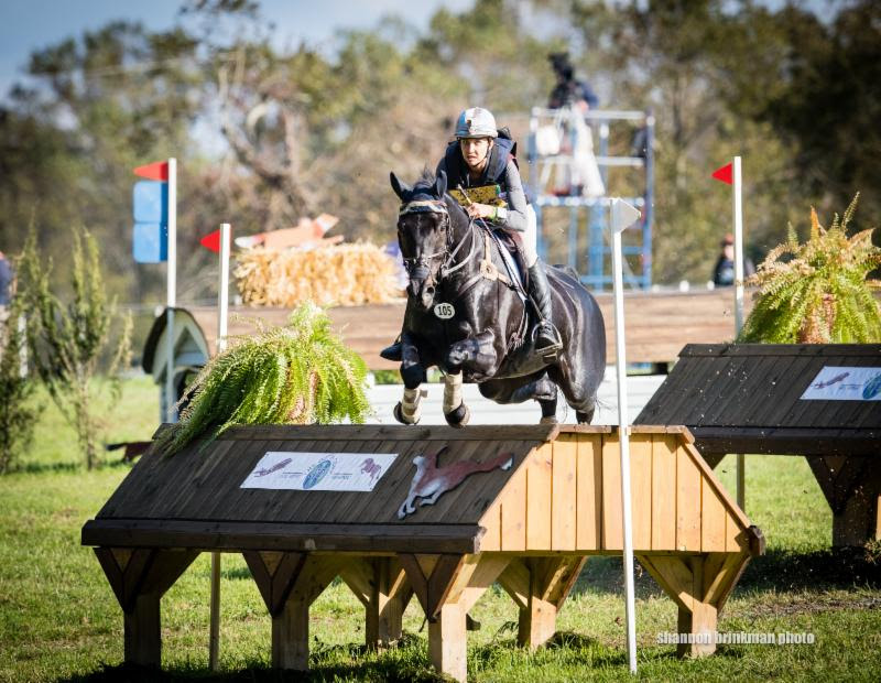 CCI3* leader Frankie Thieriot Stutes and Chatwin.