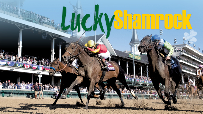 Thumbnail for Lucky Shamrock Rocks Breeders' Cup Filly & Mare Sprint