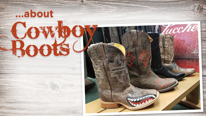 Thumbnail for 10 Facts About Cowboy Boots