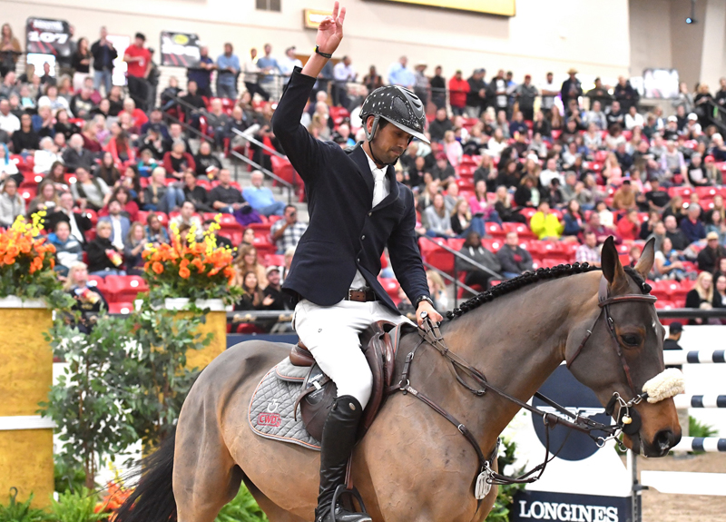 For the second week in a row, Nayel Nassar (EGY) and his longtime partner Lordan clinch another victory, winning the Longines FEI Jumping World Cup™ Las Vegas (USA) on Saturday 17 November 2018.