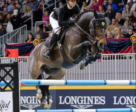 Nicole Walker, 24, of Aurora, ON claimed the 2018 Canadian Show Jumping Championship title aboard Falco van Spieveld on Nov. 3 at the Royal Horse Show in Toronto, ON.