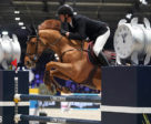 At the Paris Longines Masters, Staut Kevin of France rode Ayade de Septon et HDC to win Friday's Longines Speed Challenge.