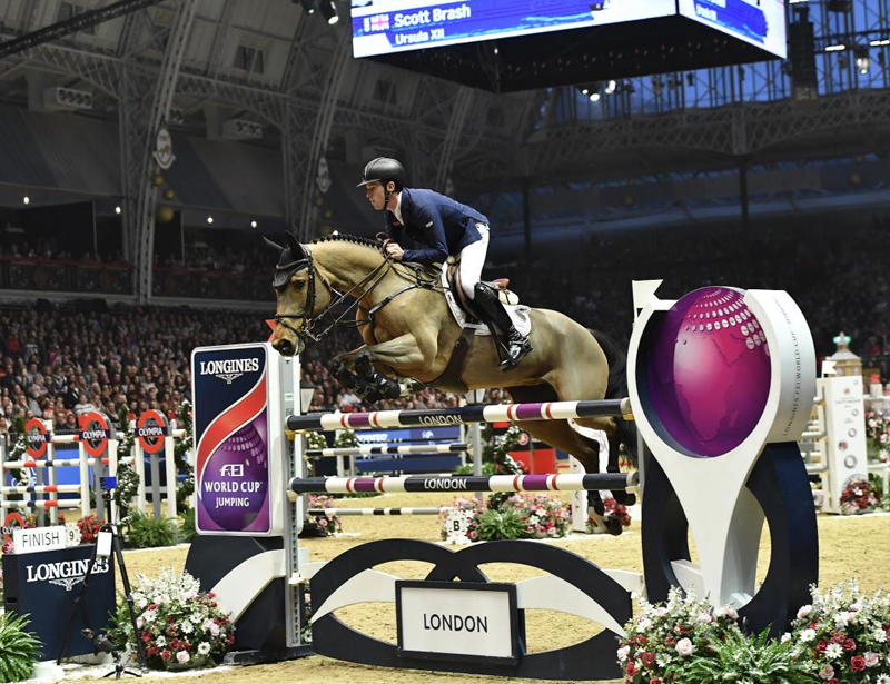 Scott Brash To Retire Ursula XII at London International