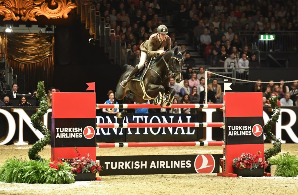 Alberto Zorzi became the fifth rider in history to win The Turkish Airlines Olympia Grand Prix back-to-back, this time aboard Ulane de Coquerie.