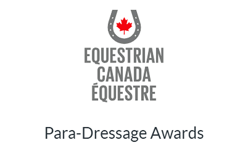 Equestrian Canada is pleased to announce nominations for the 2019 Para-Dressage Recognition Year-End Awards.