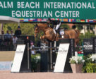 Tiffany Foster and Donjo were third in the $75,000 Rosenbaum PLLC Grand Prix at the Winter Equestrian Festival. Photo by Sportfot