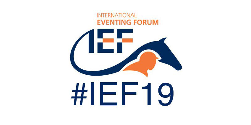 The 2019 International Eventing Forum (IEF) will take place on February 4, 2019, at Hartpury College in Gloucestershire, England.
