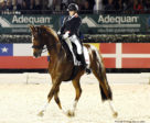 Adequan Global Dressage Festival 5-star Freestyle winner, Brittany Fraser-Beaulieu on All In. © Nancy Jaffer