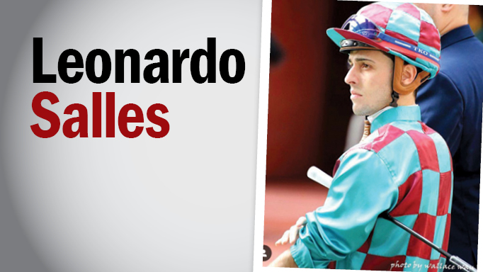 Thumbnail for Faces at the Races: New Woodbine Jockey Leonardo Salles