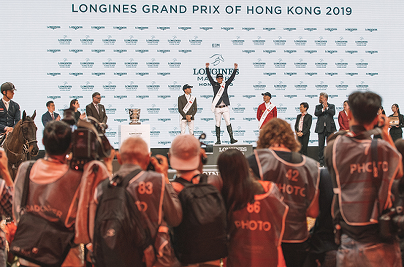 Denis Lynch and Chablis won the Longines Grand Prix of Hong Kong to conclude the Asian leg of the Longines Masters Series.