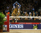 Germany's Daniel Deusser produced his third sensational win of the season at the 13th and last qualifier of the Longines FEI Jumping World Cup™ 2018/2019 Western European League in Bordeaux, France, riding Tobago Z.