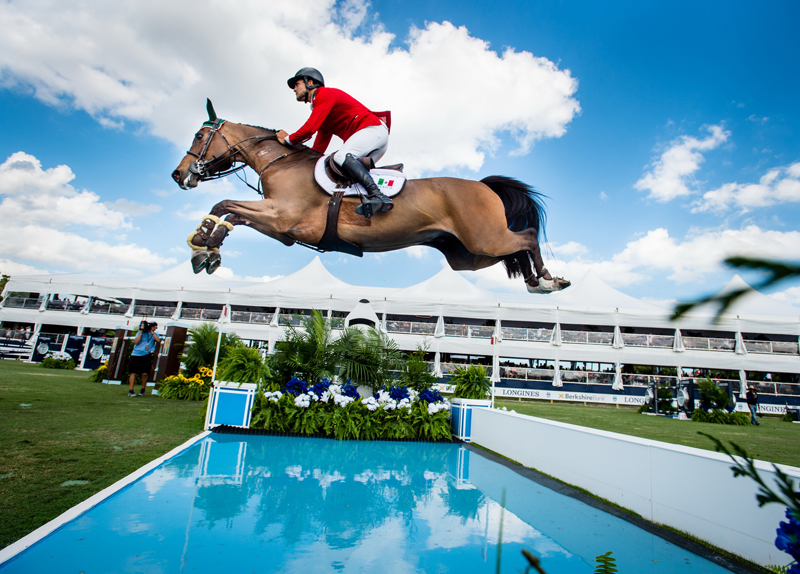 Eugenio Garza Perez and Victer Finn DHZ produced one of the two double-clear performances that helped Team Mexico to a definitive victory at today's Longines FEI Jumping Nations Cup™ of the United States of America at Deeridge Farm in Wellington (USA).