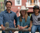 Lucian-River Chauhan with Graham Wardle (Ty) and Amber Marshall (Amy).