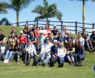 A group photo of the riders who participated in the 2018 Florida International Youth Dressage Championships at the Adequan® Global Dressage Festival. Photo © Lily Forado