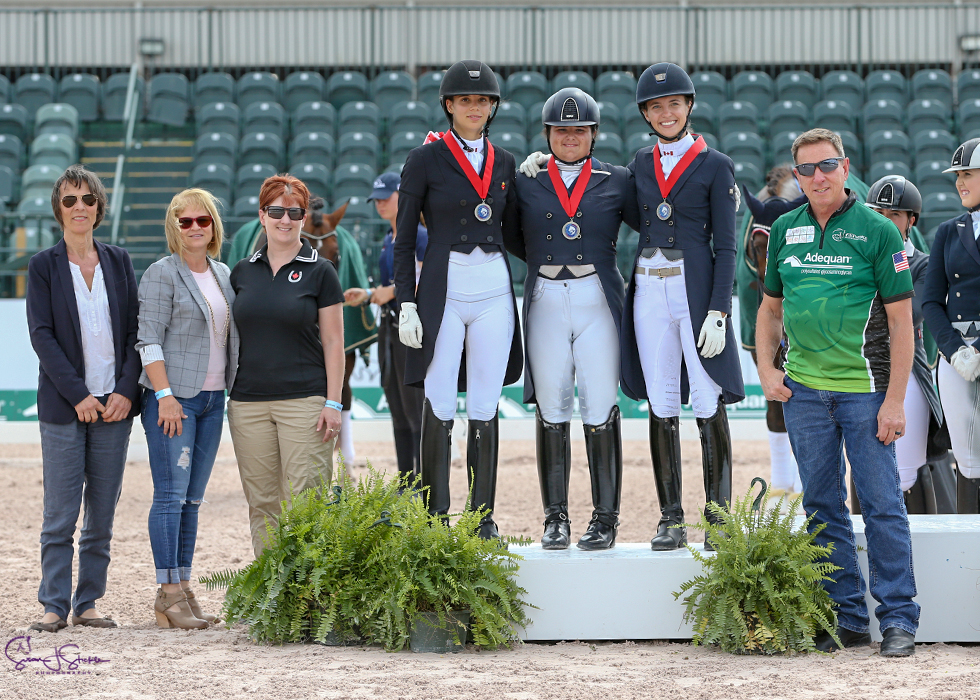Thumbnail for Young Canadians Shine at the Nations Cup CDIO-U25 at AGDF