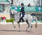 Adrienne Lyle and Harmony's Duval in their winning test.