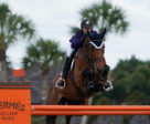 Alexanne Thibault and Chacco Prime were third in the $50,000 Hermès Under 25 Grand Prix Final. Photo © Sportfot