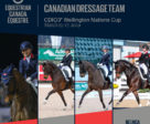 Canada will be represented in the CDIO 3* Nations Cup by Jill Irving/Arthur, Lindsay Kellock/Floratina, Tina Irwin/Laurencio and Belinda Trussell/Carlucci.