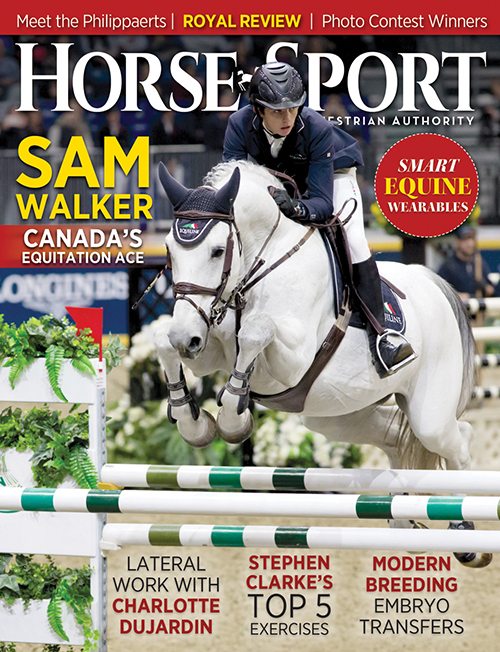 Sam Walker (shown on our February cover aboard Acardi du Houssoit) took the 12th annual George H. Morris Excellence in Equitation Championship at WEF.