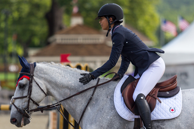 Ava Wong and Concelo quickly formed a strong partnership that took them all the way to the 2018 North American Youth Championships. Photo by Jump Media