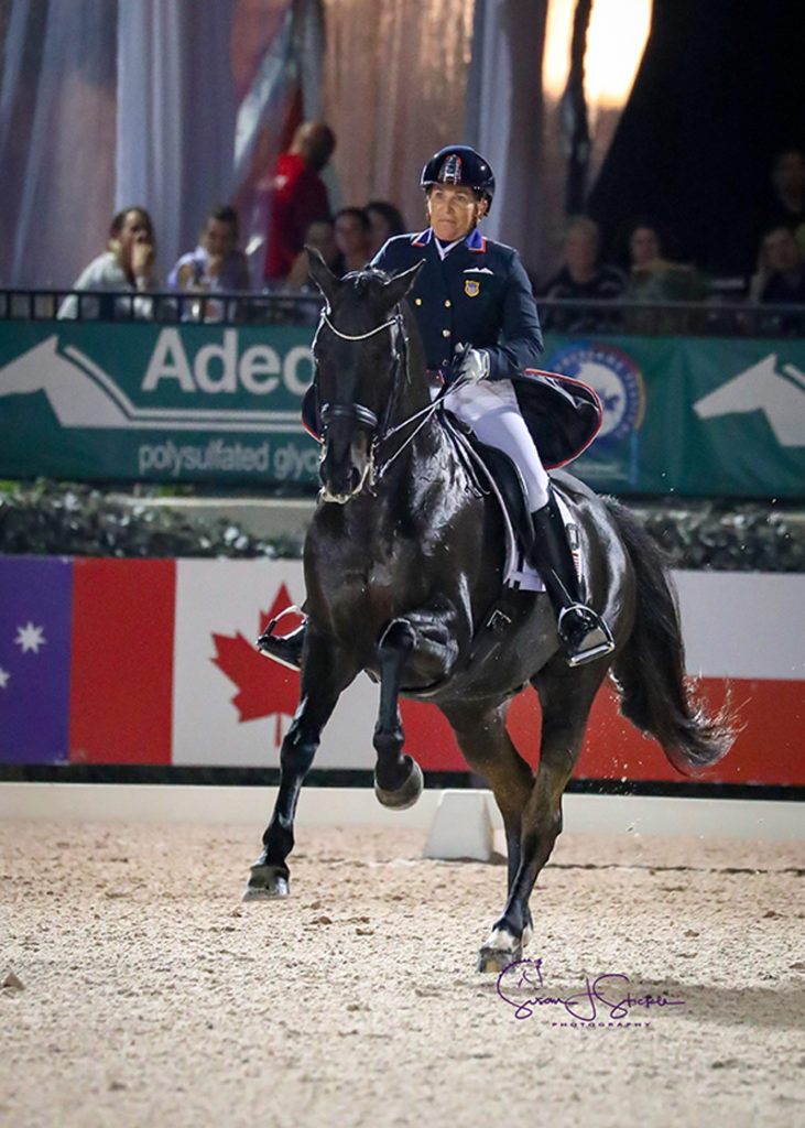 Shelly Francis and Danilo won the FEI Grand Prix Freestyle CDIO3* during week 10 of the Adequan Global Dressage festival. Photo © SusanStickle.com