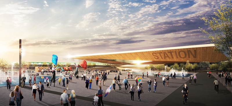 Woodbine Entertainment has announced a partnership with construction experts EllisDon for the development of the recently announced GO station.