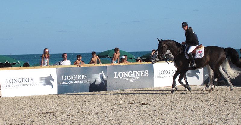 Eric Lamaze will be among the world's top riders competing at the Longines Global Champions Tour event in Miami Beach.