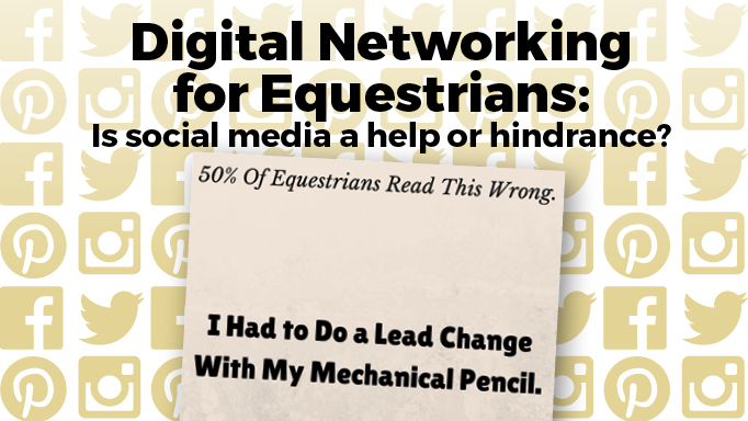 Thumbnail for Is Social Media a Help or Hindrance for Equestrians?