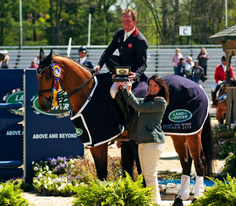 Thumbnail for Top Eventers Entered for 2019 Land Rover Kentucky Three-Day Event