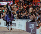 Oh yes, she's done it again! The incredible German athlete Isabell Werth claimed her third consecutive and fifth overall FEI Dressage World Cup™ title at the Scandinavium Arena in Gothenburg, Sweden.