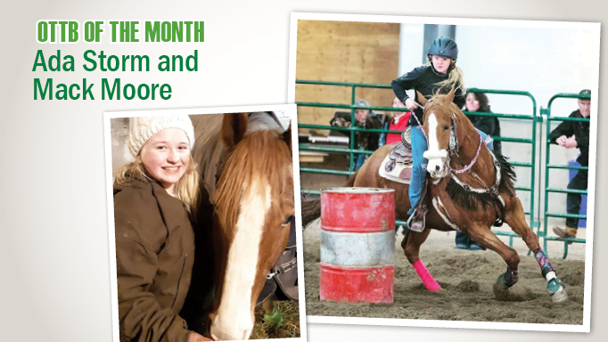 Thumbnail for Former Racehorse Ada Storm Finds New Thrills as a Barrel Racer