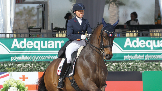 Thumbnail for Canadian Dressage Star Jill Irving: Moving Forward While Giving Back