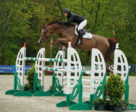 Beezie Madden won the $50,000 Old Salem Farm Grand Prix CSI2*, presented by The Kincade Group, riding Garant on Sunday, May 12, during the 2019 Old Salem Farm Spring Horse Shows at Old Salem Farm in North Salem, NY. Photo by The Book