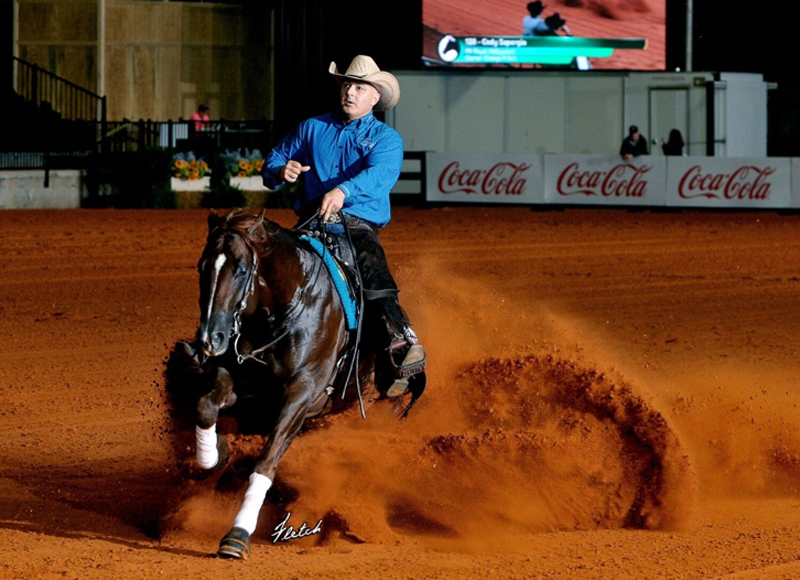Open Derby Level 3 and 4 Champions Cody Sapergia and Mr Royal Hollywood. Photo ©Fletcher Photography