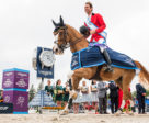 Pieter Devos and Apart clinched victory for Belgium today in the Longines FEI Jumping Nations Cup™ of Poland at Sopot (POL). FEI/Lucasz Kowalski Photo