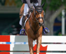 Eric Lamaze scored an emotional win in the $500,000 RBC Grand Prix of Canada, presented by Rolex, on Saturday, June 8, at the Spruce Meadows 'National' tournament in Calgary, AB. Photo by Sportfot